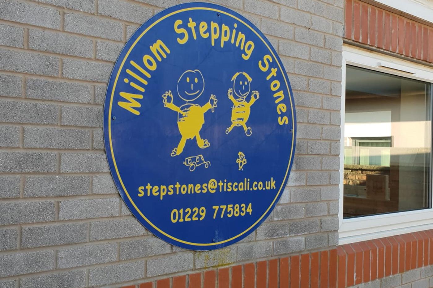 Millom-Stepping-Stones-Signage