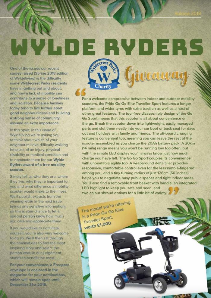 Wylde Riders Magazine