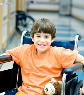 Boy-in-Wheelchair